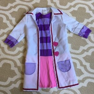 👩‍⚕️Doc McStuffins dress and lab coat costume